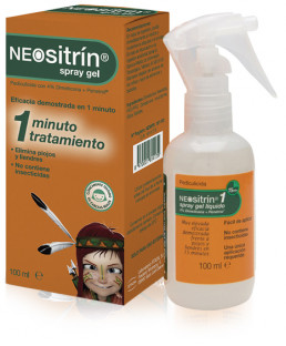 Spray antipiojos